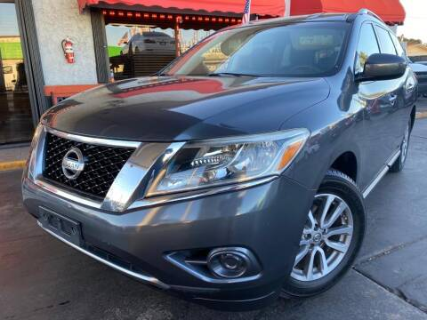 2013 Nissan Pathfinder for sale at MATRIX AUTO SALES INC in Miami FL