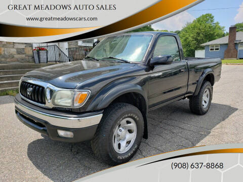 2004 Toyota Tacoma for sale at GREAT MEADOWS AUTO SALES in Great Meadows NJ