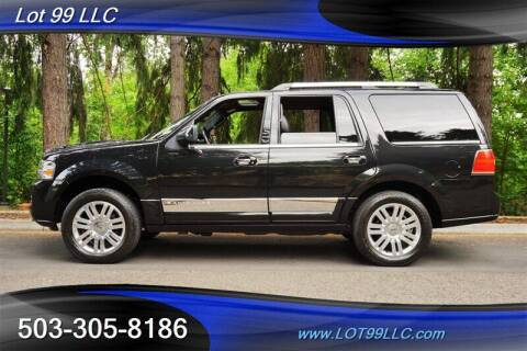 2012 Lincoln Navigator for sale at LOT 99 LLC in Milwaukie OR