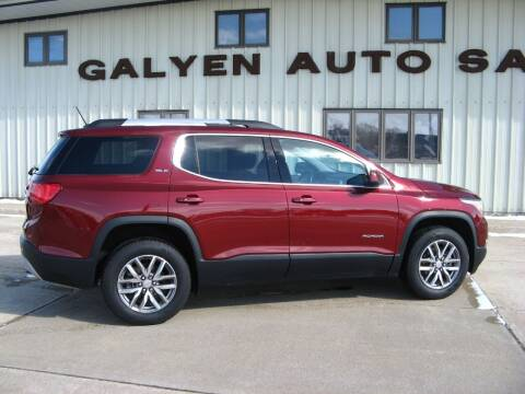 2017 GMC Acadia for sale at Galyen Auto Sales Inc. in Atkinson NE