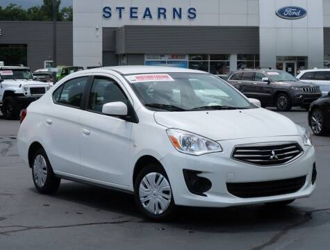2019 Mitsubishi Mirage G4 for sale at Stearns Ford in Burlington NC