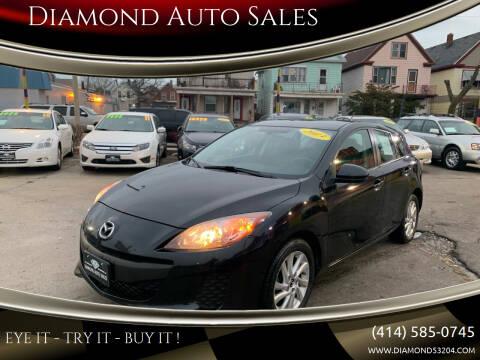 2013 Mazda MAZDA3 for sale at Diamond Auto Sales in Milwaukee WI