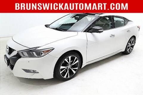 2017 Nissan Maxima for sale at Brunswick Auto Mart in Brunswick OH