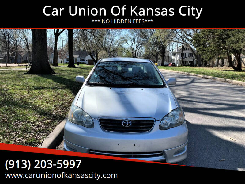 2007 Toyota Corolla for sale at Car Union Of Kansas City in Kansas City MO