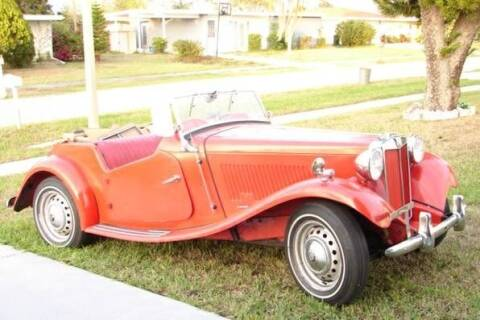 1954 MG TD for sale at Haggle Me Classics in Hobart IN