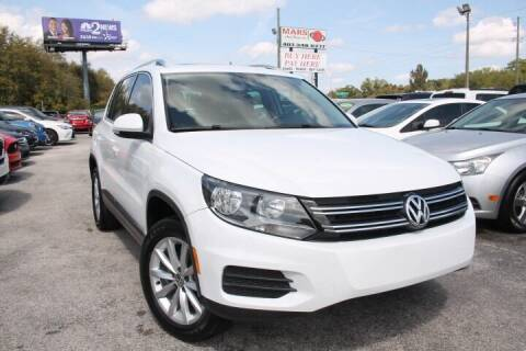 2017 Volkswagen Tiguan for sale at Mars auto trade llc in Kissimmee FL
