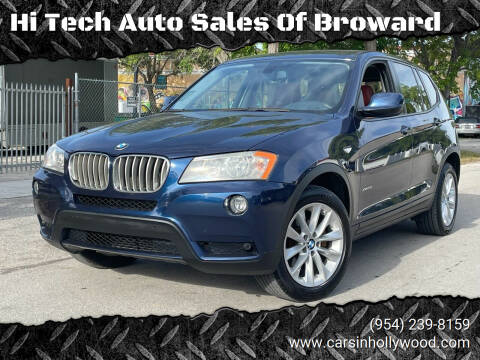 2014 BMW X3 for sale at Hi Tech Auto Sales Of Broward in Hollywood FL