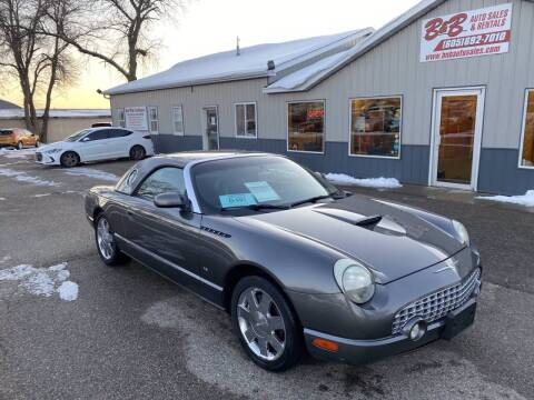 2003 Ford Thunderbird for sale at B & B Auto Sales in Brookings SD