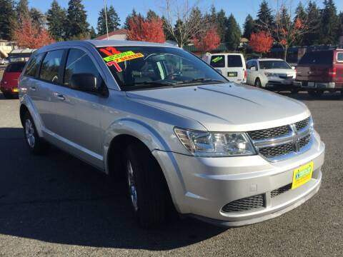 2012 Dodge Journey for sale at Federal Way Auto Sales in Federal Way WA
