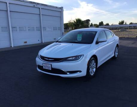 2016 Chrysler 200 for sale at My Three Sons Auto Sales in Sacramento CA