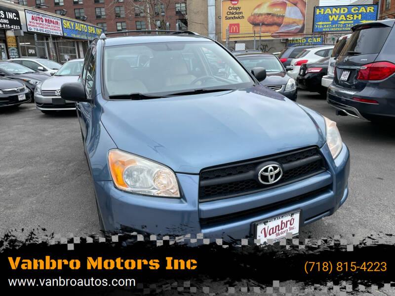 2011 Toyota RAV4 for sale at Vanbro Motors Inc in Staten Island NY