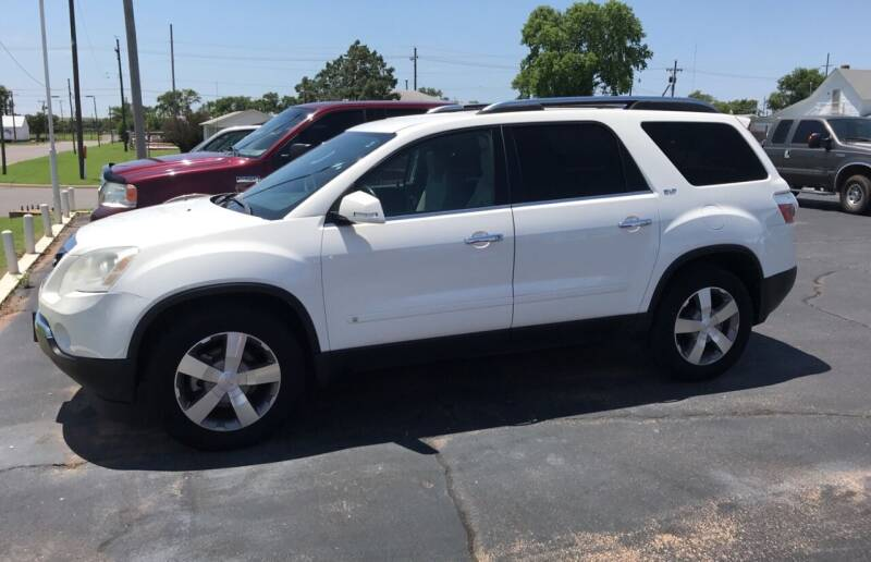 2009 GMC Acadia for sale at Westok Auto Leasing in Weatherford OK