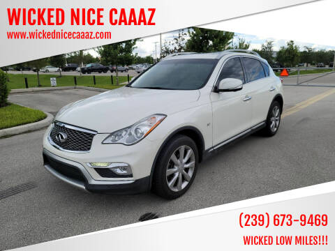 2017 Infiniti QX50 for sale at WICKED NICE CAAAZ in Cape Coral FL