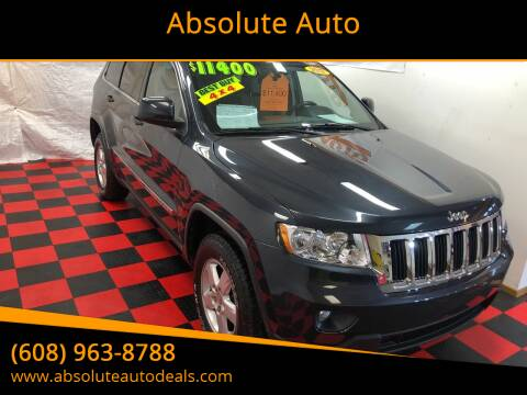 2013 Jeep Grand Cherokee for sale at Absolute Auto in Baraboo WI