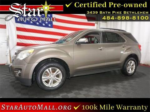 2012 Chevrolet Equinox for sale at STAR AUTO MALL 512 in Bethlehem PA