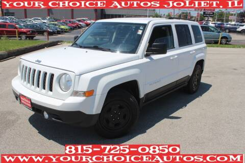 2012 Jeep Patriot for sale at Your Choice Autos - Joliet in Joliet IL