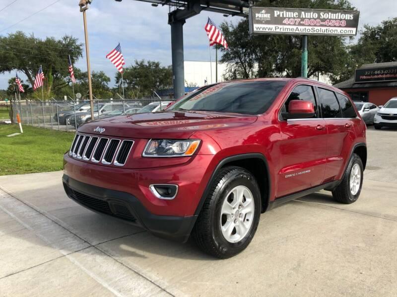 2014 Jeep Grand Cherokee for sale at Prime Auto Solutions in Orlando FL
