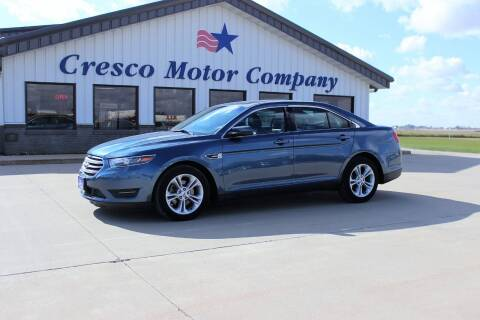 2019 Ford Taurus for sale at Cresco Motor Company in Cresco IA