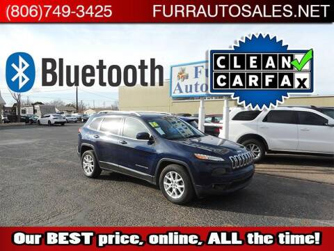 2016 Jeep Cherokee for sale at FURR AUTO SALES in Lubbock TX