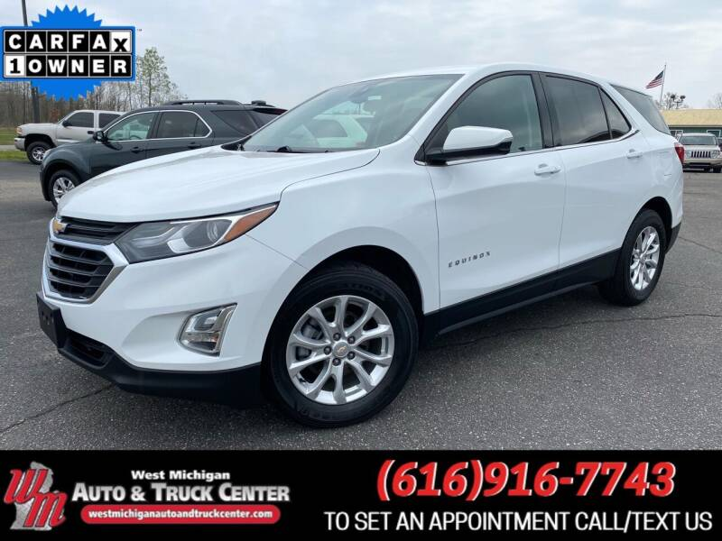 2019 Chevrolet Equinox for sale at West Michigan Auto and Truck Center in Cedar Springs MI