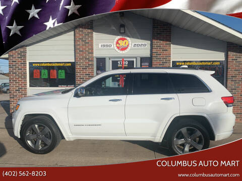 2014 Jeep Grand Cherokee for sale at Columbus Auto Mart in Columbus NE