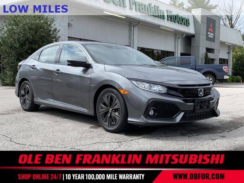 2019 Honda Civic for sale at Ole Ben Franklin Mitsbishi in Oak Ridge TN