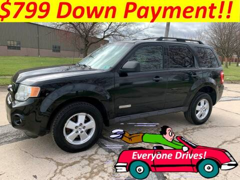 2008 Ford Escape for sale at World Automotive in Euclid OH