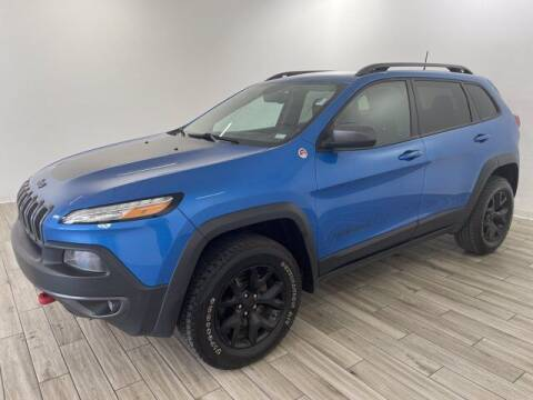 2017 Jeep Cherokee for sale at TRAVERS GMT AUTO SALES - Traver GMT Auto Sales West in O Fallon MO