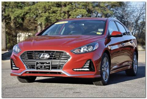 2018 Hyundai Sonata for sale at STRICKLAND AUTO GROUP INC in Ahoskie NC