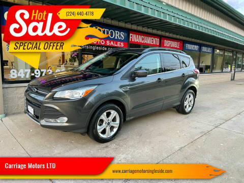 2016 Ford Escape for sale at Carriage Motors LTD in Ingleside IL
