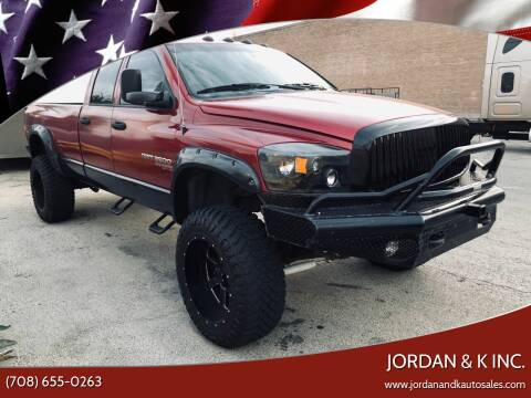 2006 Dodge Ram Pickup 3500 for sale at JORDAN & K INC. in River Grove IL
