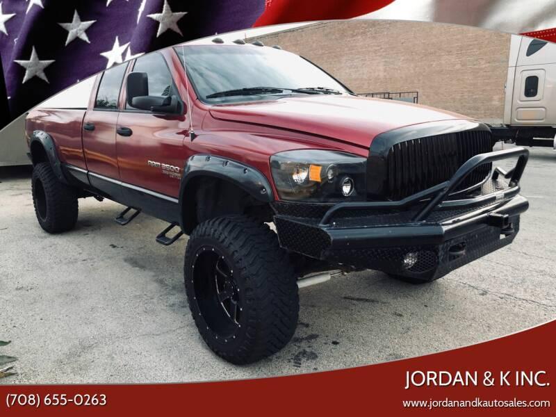 2006 Dodge Ram Pickup 3500 for sale at JORDAN & K INC. in River Grove IL