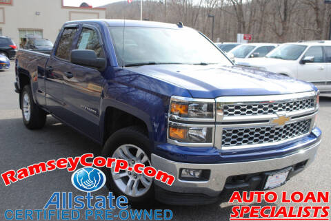 2014 Chevrolet Silverado 1500 for sale at Ramsey Corp. in West Milford NJ