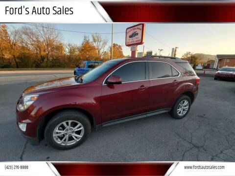 2017 Chevrolet Equinox for sale at Ford's Auto Sales in Kingsport TN
