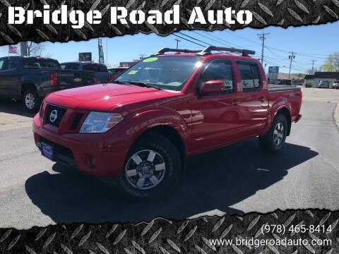 2011 Nissan Frontier for sale at Bridge Road Auto in Salisbury MA