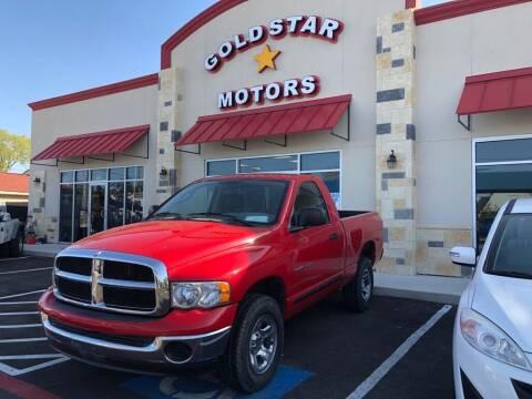 2005 Dodge Ram Pickup 1500 for sale at Gold Star Motors Inc. in San Antonio TX