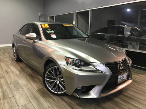 2015 Lexus IS 250 for sale at Golden State Auto Inc. in Rancho Cordova CA