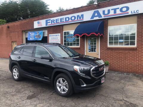 2019 GMC Terrain for sale at FREEDOM AUTO LLC in Wilkesboro NC
