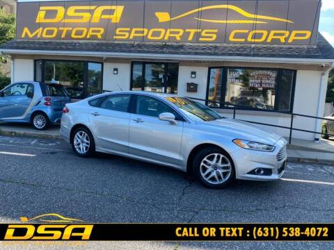 2015 Ford Fusion for sale at DSA Motor Sports Corp in Commack NY