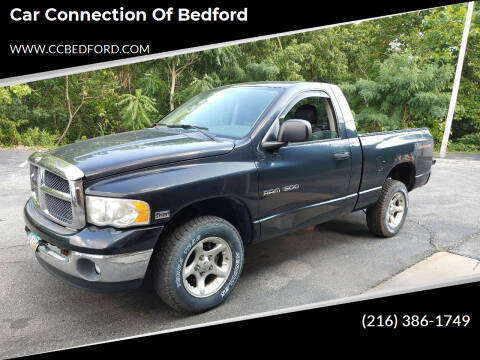 2003 Dodge Ram Pickup 1500 for sale at Car Connection of Bedford in Bedford OH