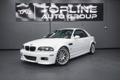 2002 BMW M3 for sale at TOPLINE AUTO GROUP in Kent WA