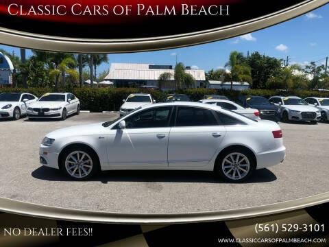 2011 Audi A6 for sale at Classic Cars of Palm Beach in Jupiter FL