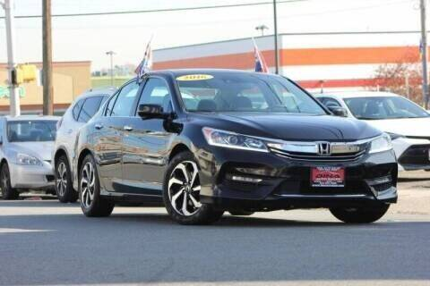 2016 Honda Accord for sale at Dina Auto Sales in Paterson NJ
