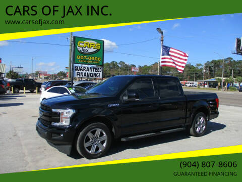 2018 Ford F-150 for sale at CARS OF JAX INC. in Jacksonville FL