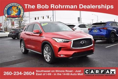 2020 Infiniti QX50 for sale at BOB ROHRMAN FORT WAYNE TOYOTA in Fort Wayne IN
