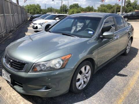 2008 Honda Accord for sale at RIVERCITYAUTOFINANCE.COM in New Braunfels TX