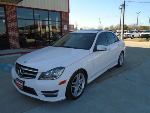 2014 Mercedes-Benz C-Class for sale at Premier Foreign Domestic Cars in Houston TX