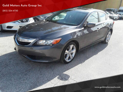 2015 Acura ILX for sale at Gold Motors Auto Group Inc in Tampa FL