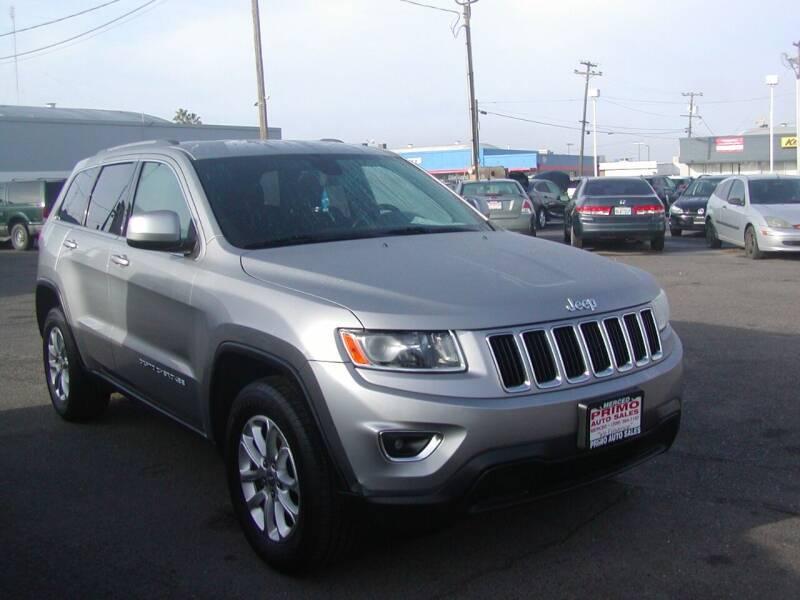 2014 Jeep Grand Cherokee for sale at Primo Auto Sales in Merced CA