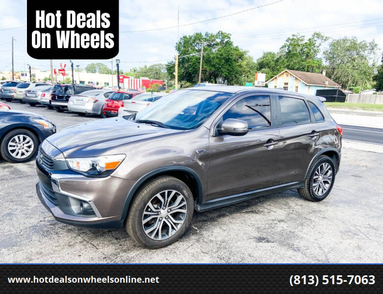 2017 Mitsubishi Outlander Sport for sale at Hot Deals On Wheels in Tampa FL